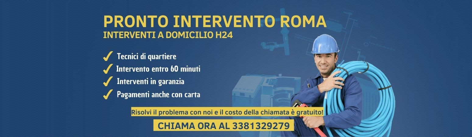 Pronto intervento roma